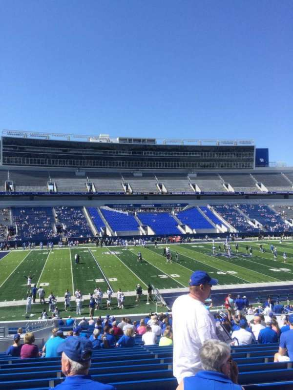 Kroger Field, section: 4, row: 35, seat: 9