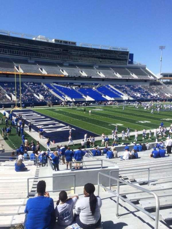 Kroger Field, section: 1, row: 28, seat: 21