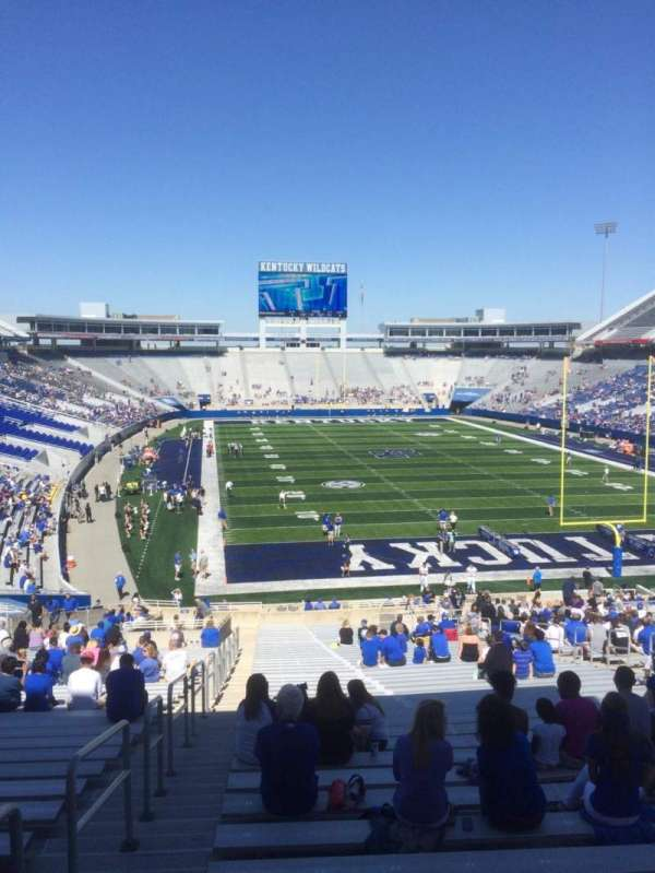 Kroger Field, section: 34, row: 44, seat: 1