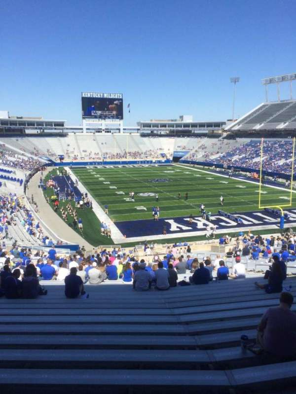 Kroger Field, section: 33, row: 45, seat: 19