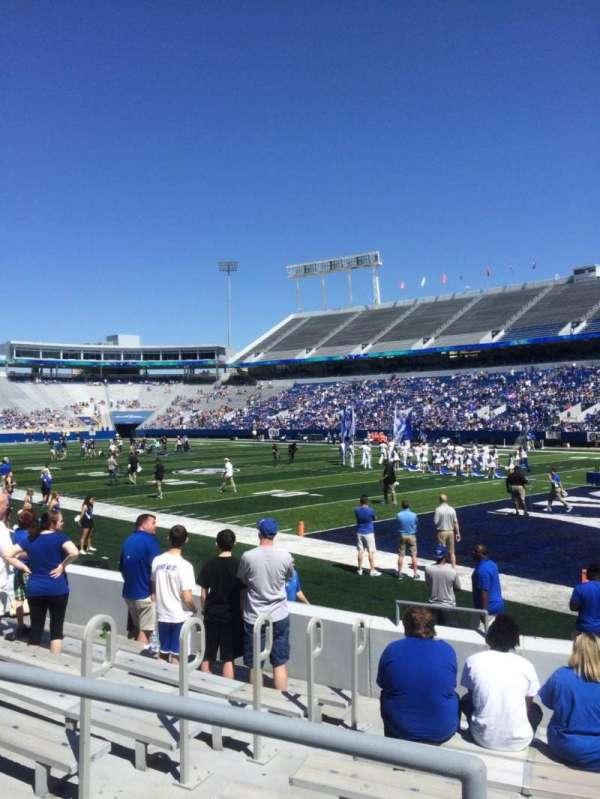 Kroger Field, section: 31, row: 9, seat: 1