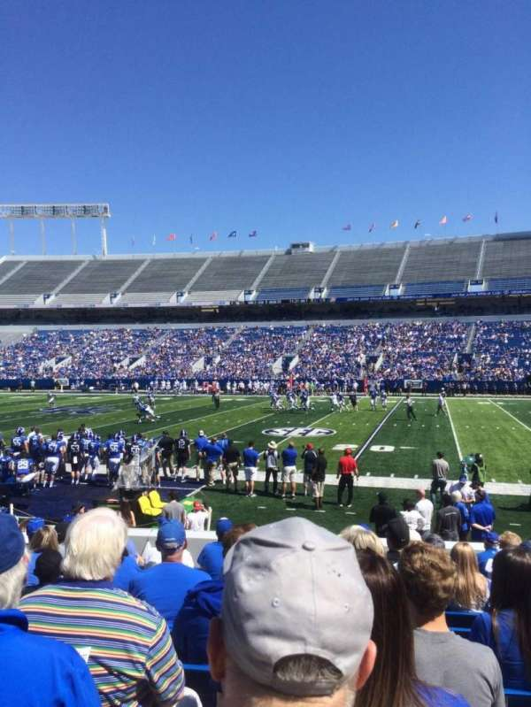 Kroger Field, section: 28, row: 13, seat: 11