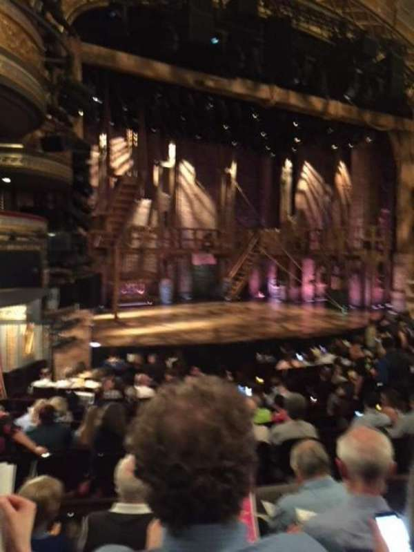 Richard Rodgers Theatre, section: Orchestra L, seat: 25