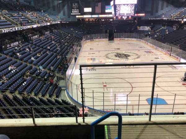 Citizens Business Bank Arena, section: 211, row: C, seat: 1