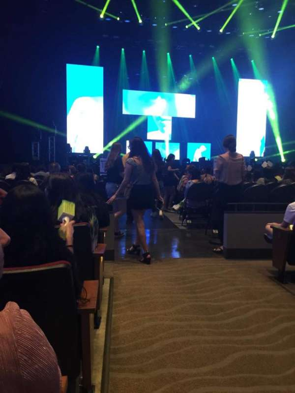 Smart Financial Centre  , section: 102, row: p, seat: 22