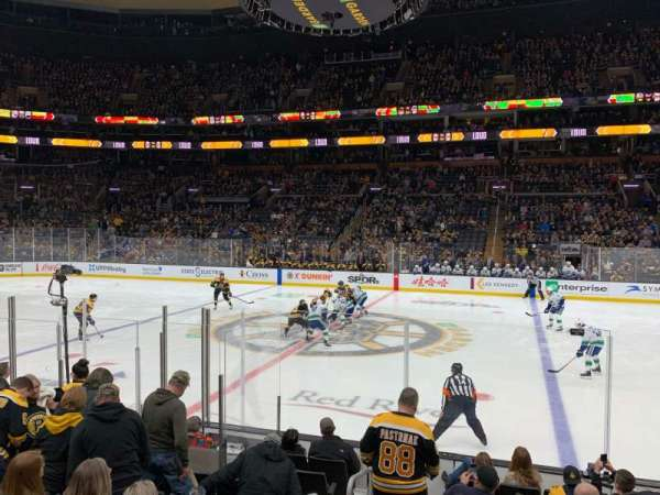 TD Garden, section: Loge 11, row: 10, seat: 20