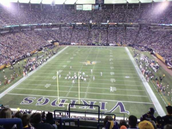 Mall of America Field, section: 239, row: 13, seat: 31