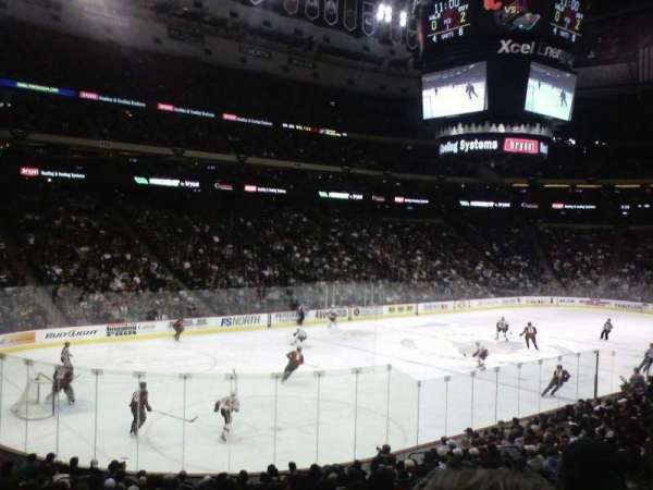 Xcel Energy Center, section: 120, row: 19, seat: 7