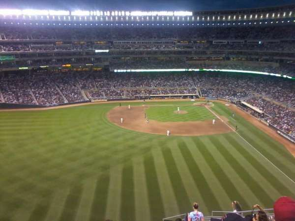 Target Field, section: 331, row: 15, seat: 8