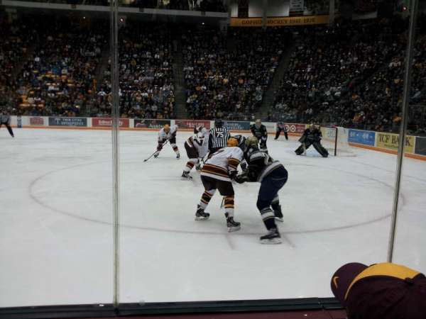 3M Arena at Mariucci, section: 5, row: 2, seat: 1