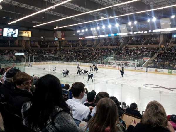 Scheels Arena, section: 115, row: k, seat: 22