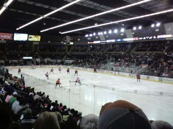 Scheels Arena, section: 115, row: L, seat: 4