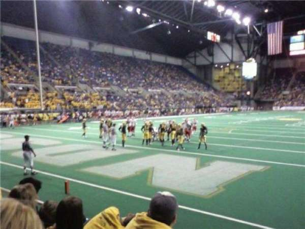 Fargodome, section: 8, row: C, seat: 7