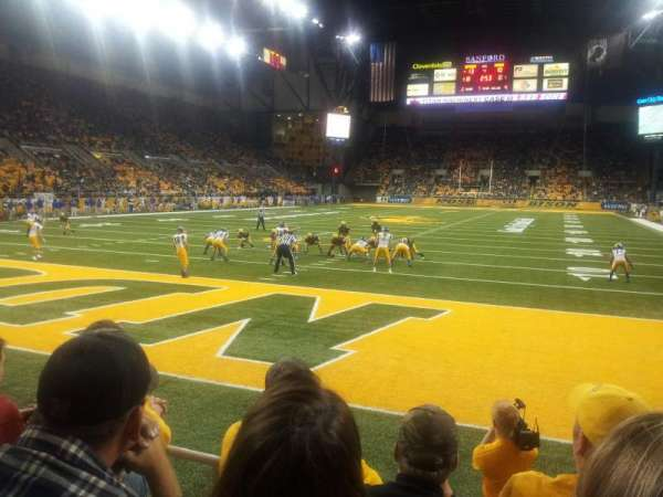 Fargodome, section: 8, row: C, seat: 6