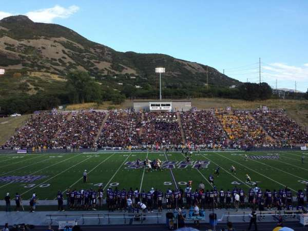 Stewart Stadium, section: D, row: 22, seat: 11