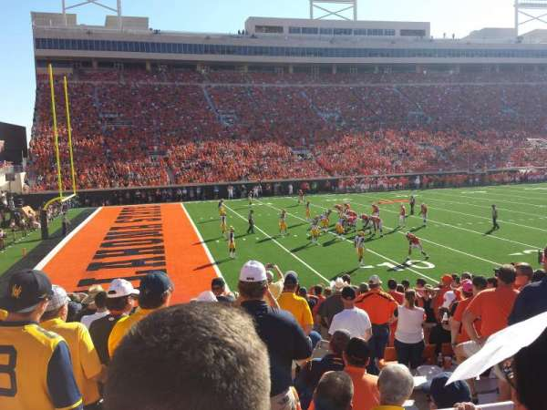 Boone Pickens Stadium, section: 227, row: 2, seat: 8