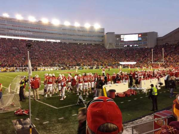 Camp Randall Stadium, section: g, row: 7, seat: 15