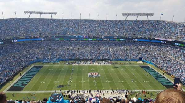 Bank of America Stadium, section: 515, row: 31, seat: 22