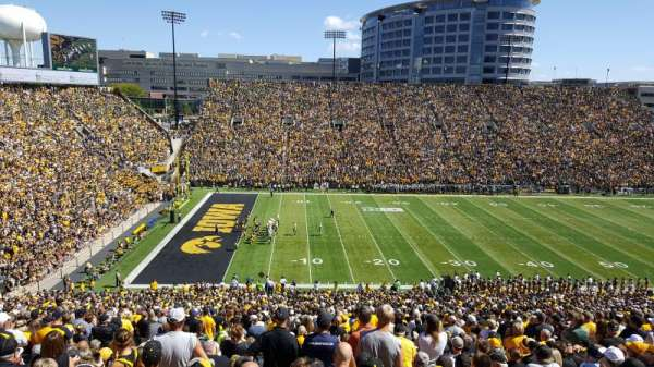 Kinnick Stadium, section: 129, row: 64, seat: 20