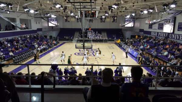 Millis Athletic Convocation Center , section: 201, row: D, seat: 21