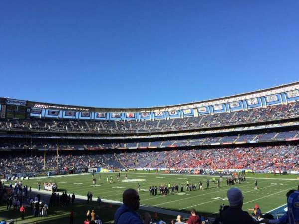 SDCCU Stadium, section: P45, row: 3, seat: 3