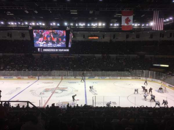 Valley View Casino Center, section: T12, row: 6, seat: 12