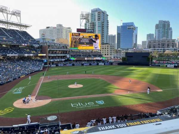 PETCO Park, section: 203, row: 1, seat: 18