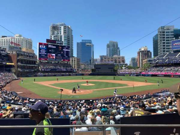 PETCO Park, section: H, row: 2, seat: 5