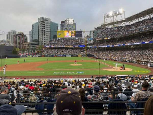 PETCO Park, section: 108, row: 27, seat: 8