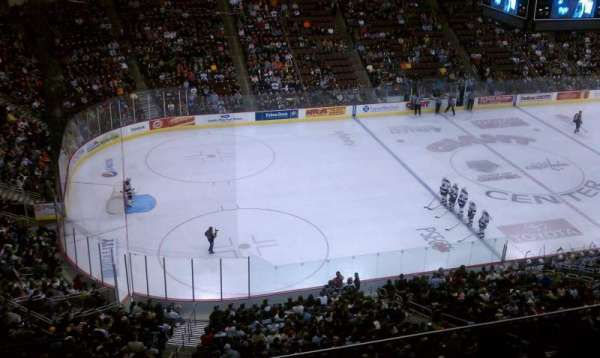 Giant Center, section: 218, row: E, seat: 9