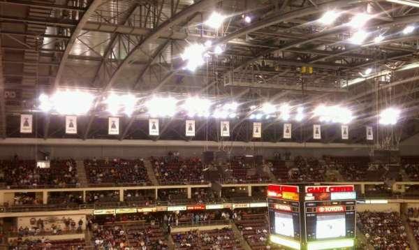 Giant Center, section: 218 , row: e, seat: 9