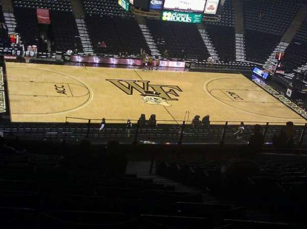 Lawrence Joel Veterans Memorial Coliseum, section: 222, row: RR, seat: 13