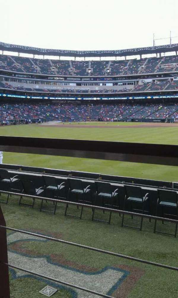 Globe Life Park in Arlington, section: 49, row: 6, seat: 10