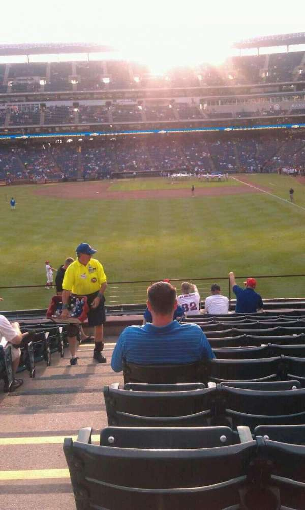 Globe Life Park in Arlington, section: 7, row: 12, seat: 1