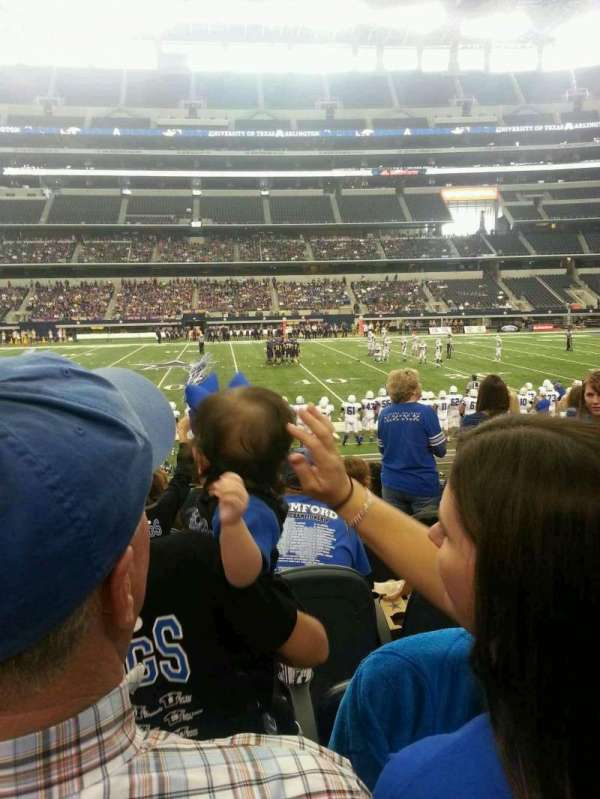 AT&T Stadium, section: C110, row: 8, seat: 7