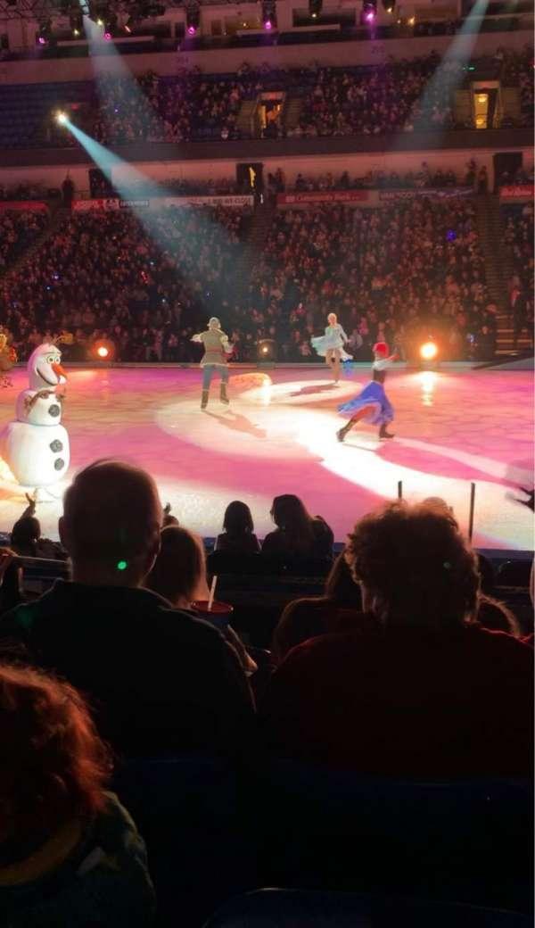 Mohegan Sun Arena at Casey Plaza, section: 116, row: E, seat: 6