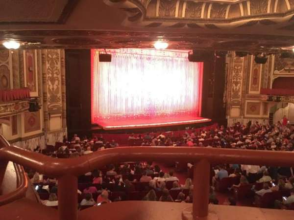 Cadillac Palace Theater, section: Dress Circle FL, row: LL, seat: 5
