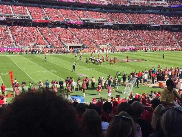Levi's Stadium, section: 142, row: 20, seat: 12