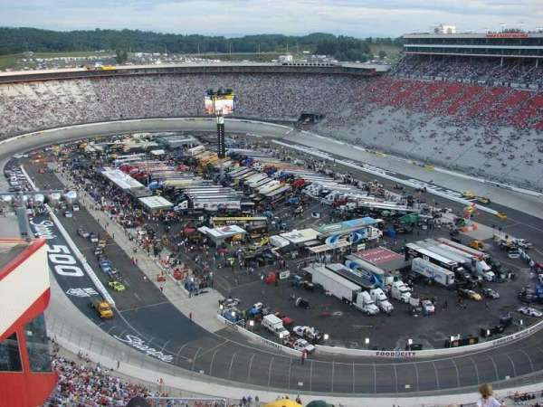 Bristol Motor Speedway, section: Wallace Tower