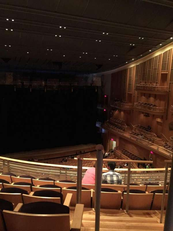 The Music Center at Strathmore, section: GR TR, row: F, seat: 1
