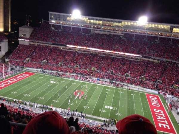 Ohio Stadium, section: 18c, row: 39, seat: 6