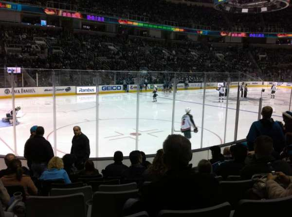 SAP Center at San Jose, section: 117, row: 9, seat: 14