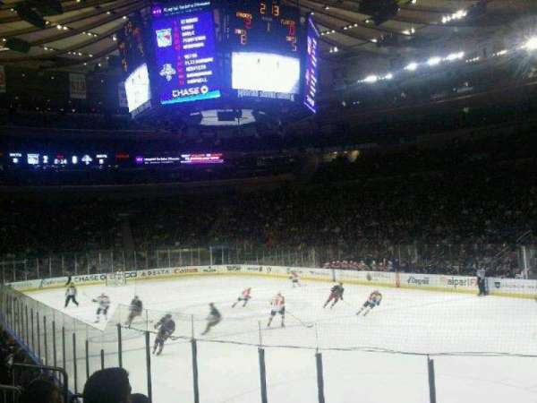 Madison Square Garden, section: 120, row: 8, seat: 12