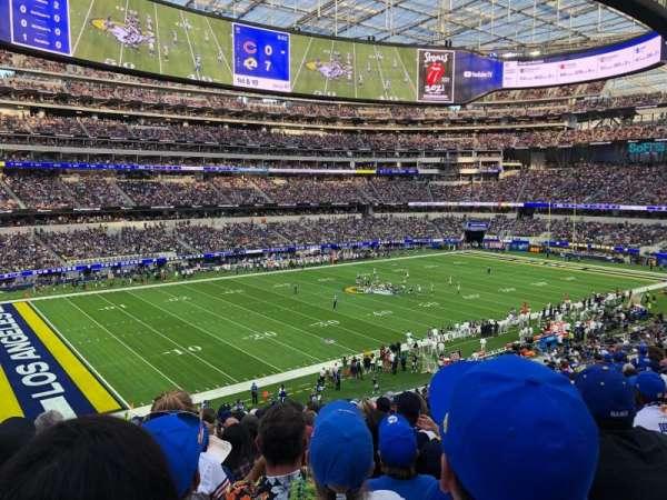SoFi Stadium, section: 214, row: 15