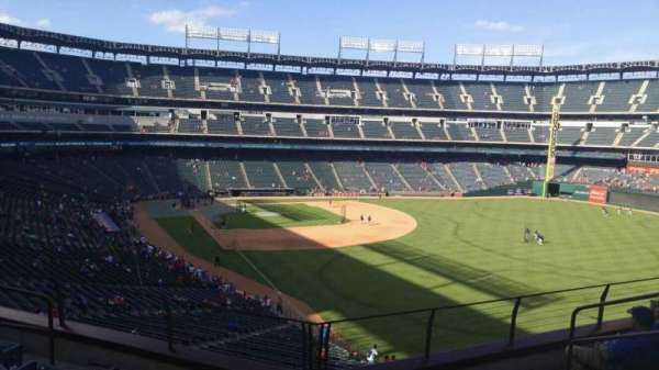 Globe Life Park in Arlington, section: 243, row: 5, seat: 6