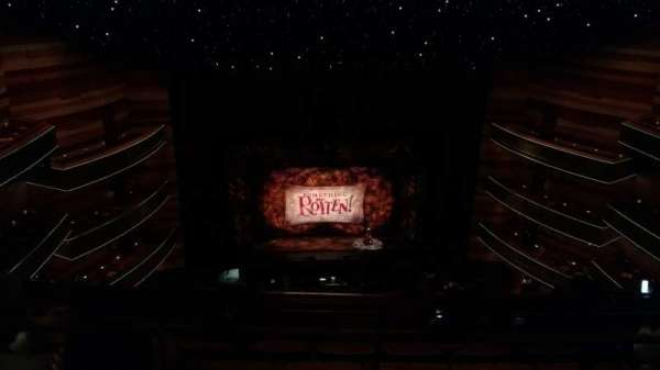 Eccles Theater, section: 3TL, row: F, seat: 12