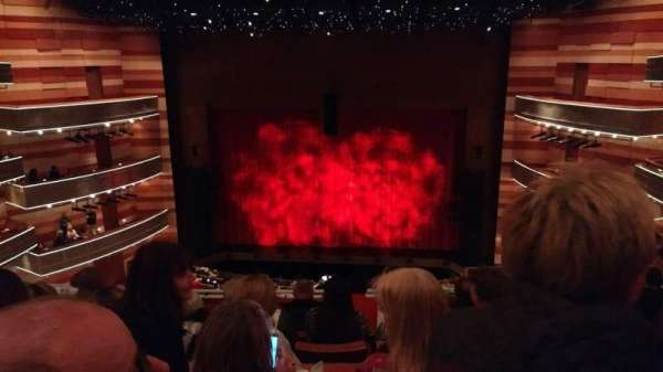 Eccles Theater, section: 2TC, row: F, seat: 1