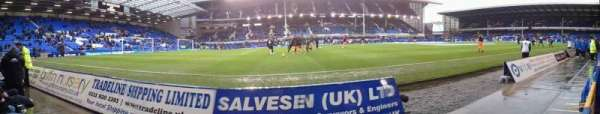 Goodison Park, section: Away