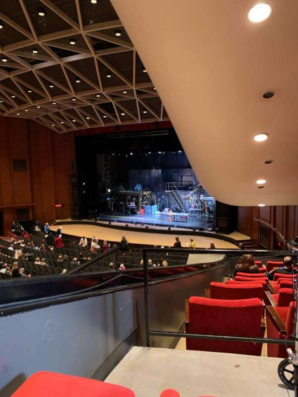 Chrysler Hall, section: RDCBOX, row: K, seat: 1