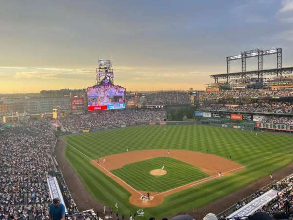 Coors Field, section: L329, row: 9, seat: 9